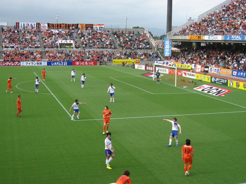 2010Jリーグ第11節 清水0-2新潟 @アウスタ日本平