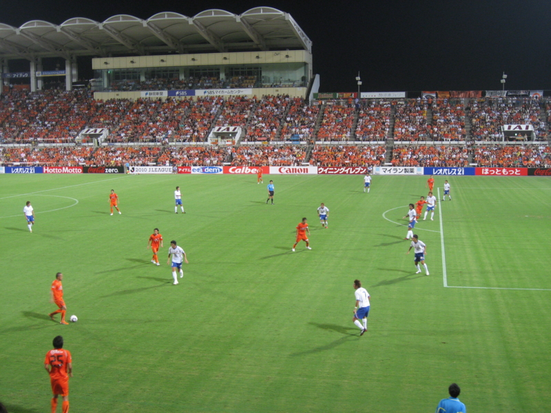 2010Jリーグ第18節 清水1-2横浜FM @アウスタ日本平 20010.8.14.sat
