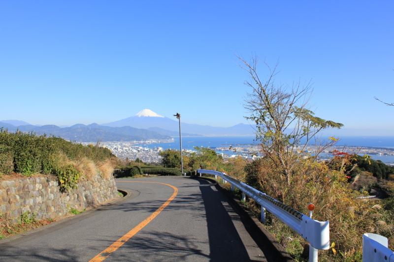 日本平より 富士山 (静岡県静岡市)