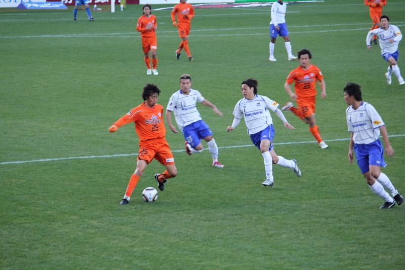 2010Jリーグ第34節 清水0-3G大阪 @アウスタ日本平