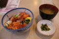 函館朝市の海鮮丼(北海道函館市)