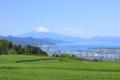 日本平からの富士山 (静岡県静岡市)
