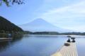 田貫湖からの富士山 (静岡県富士宮市)