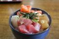 海鮮丼 (しまなみ海道/大三島)
