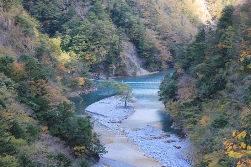 寸又峡(静岡県川根本町)
