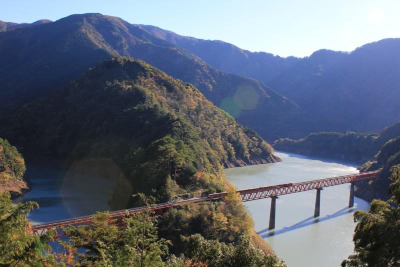 レインボーブリッジ(静岡県川根本町)