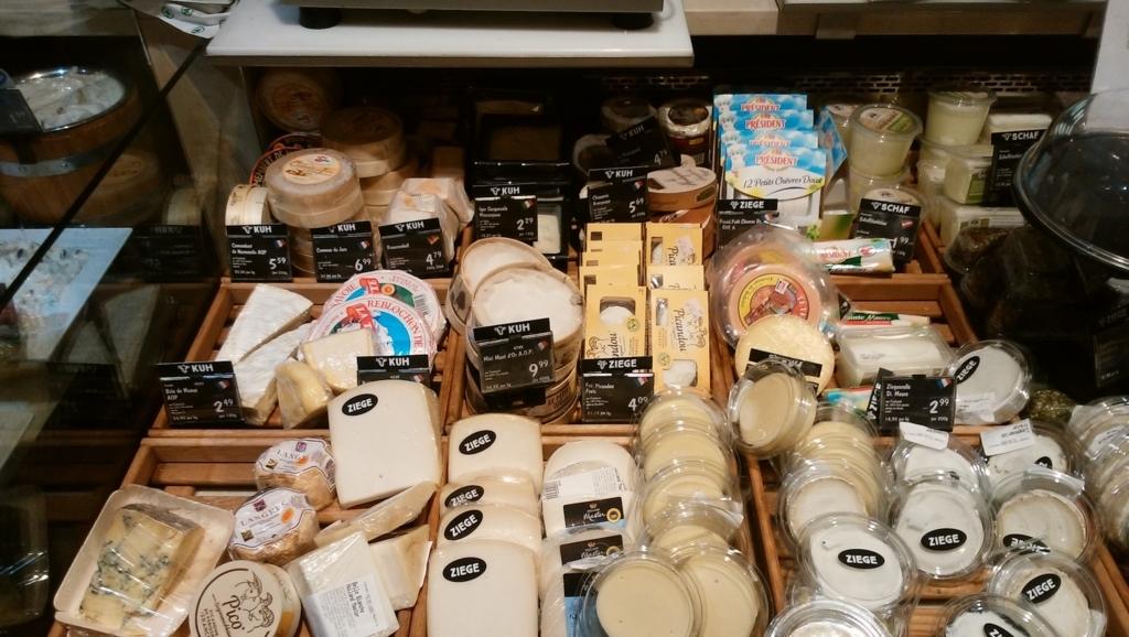 チーズ売り場