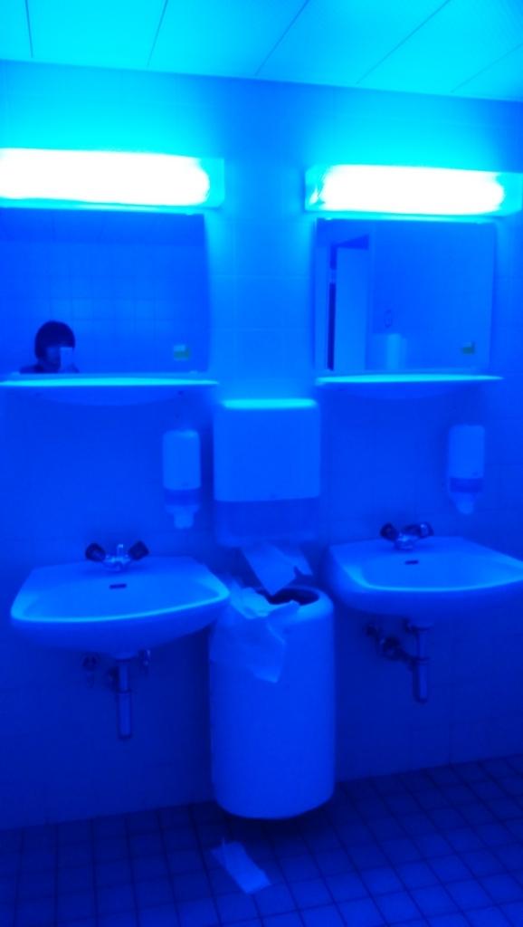 ウィーン工科大学のトイレ