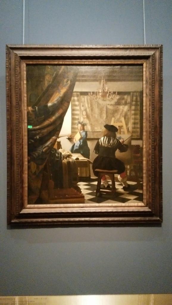 フェルメール「絵画芸術」