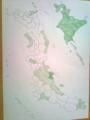 地方自治の貨幣プルーフ コンプマップ。