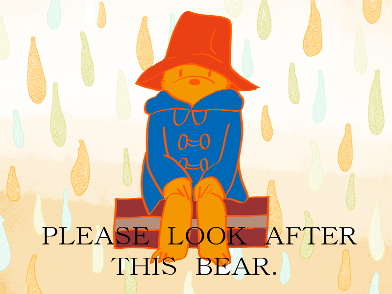 PLEASE LOOK AFTER THIS BEAR.