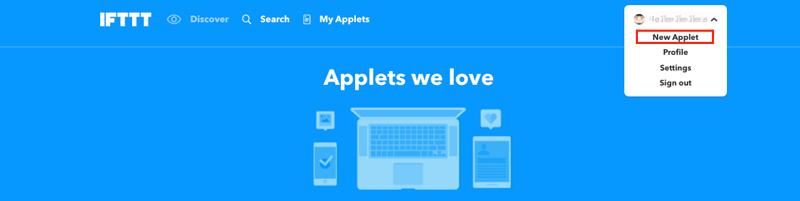 IFTTT_new_applet