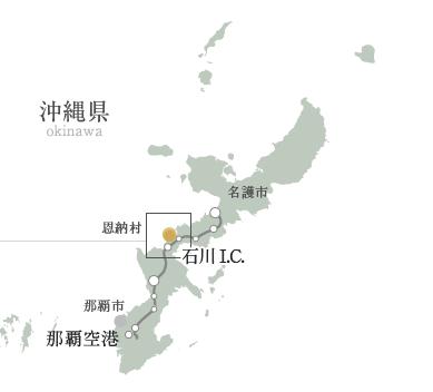 カフーリゾート地図