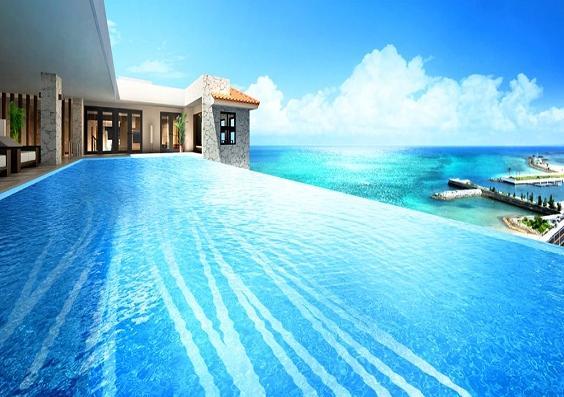 カフーリゾートのプール