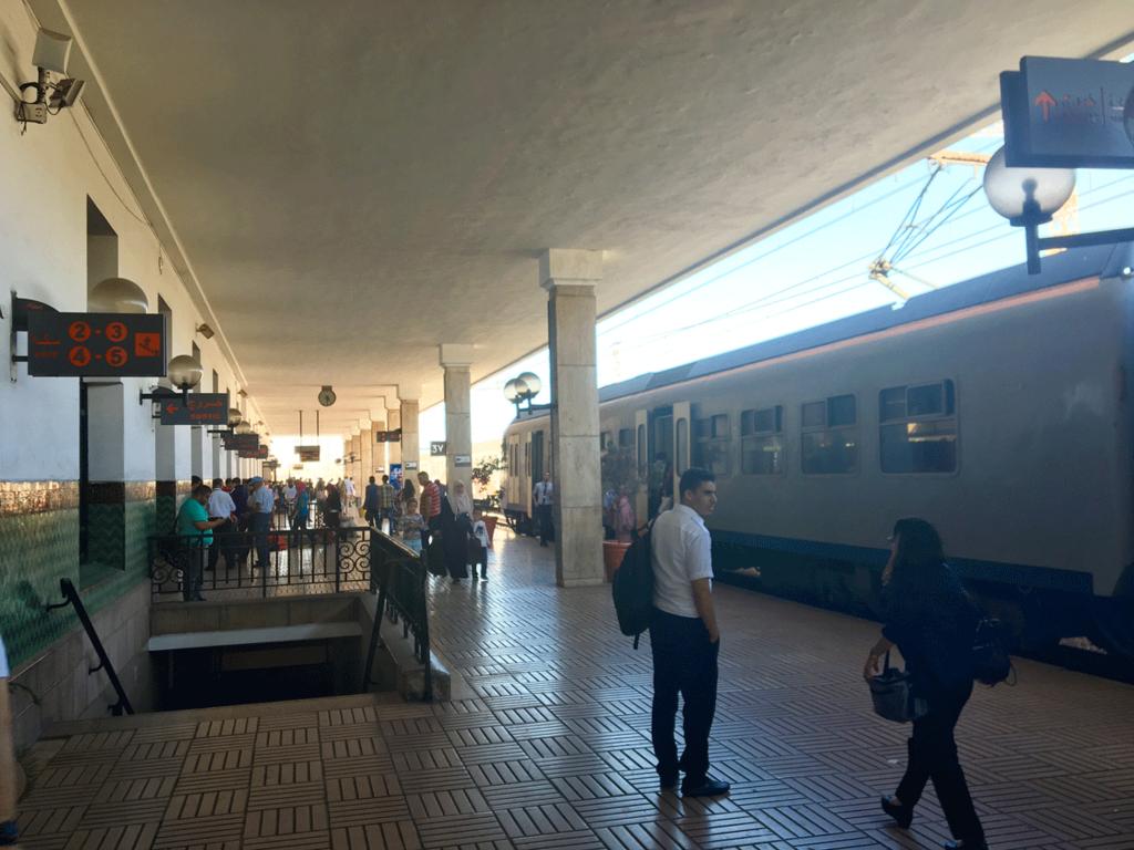モロッコ 鉄道ONCF