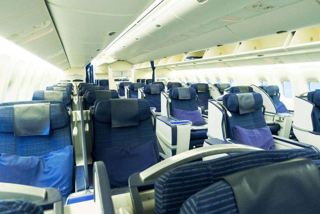 ANA国際線 B767-300 ビジネスクラス