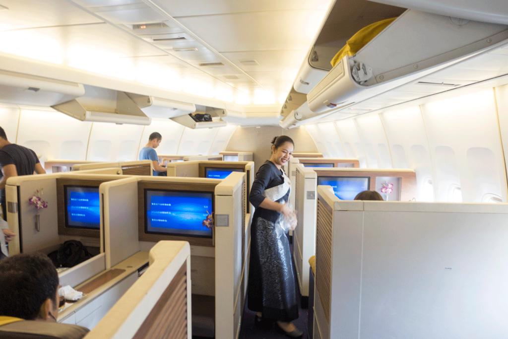 タイ国際航空ロイヤルファーストクラス1