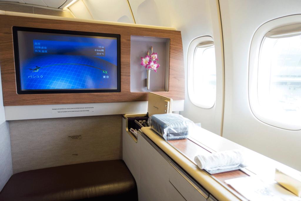 タイ国際航空ロイヤルファーストクラス2