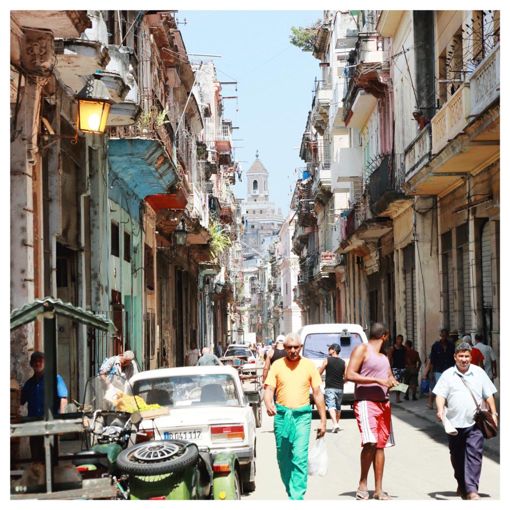 キューバ ハバナ旧市街地