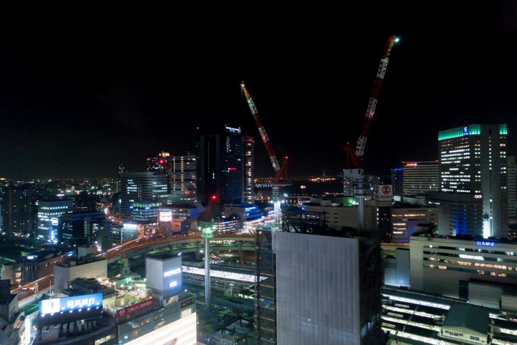 横浜ベイシェラトン 夜景