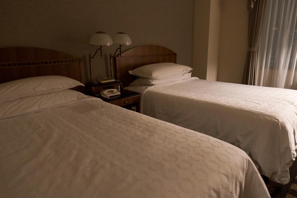 横浜ベイシェラトン ラグジュアリーフロア ベッド