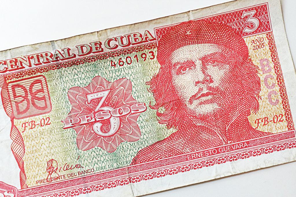 キューバ 3ペソ ゲバラ