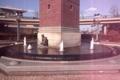 時計台と噴水