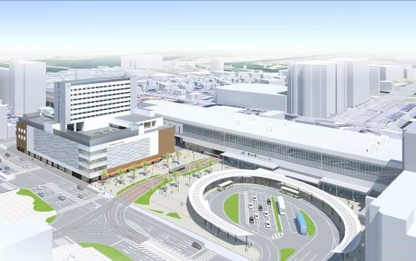 富山駅、JR富山駅NKビル