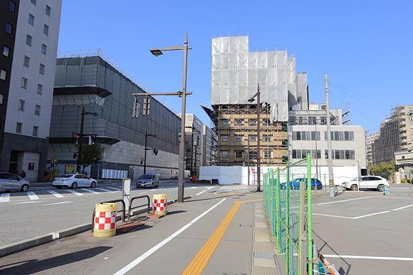 富山駅前、ホテルJALシティ富山