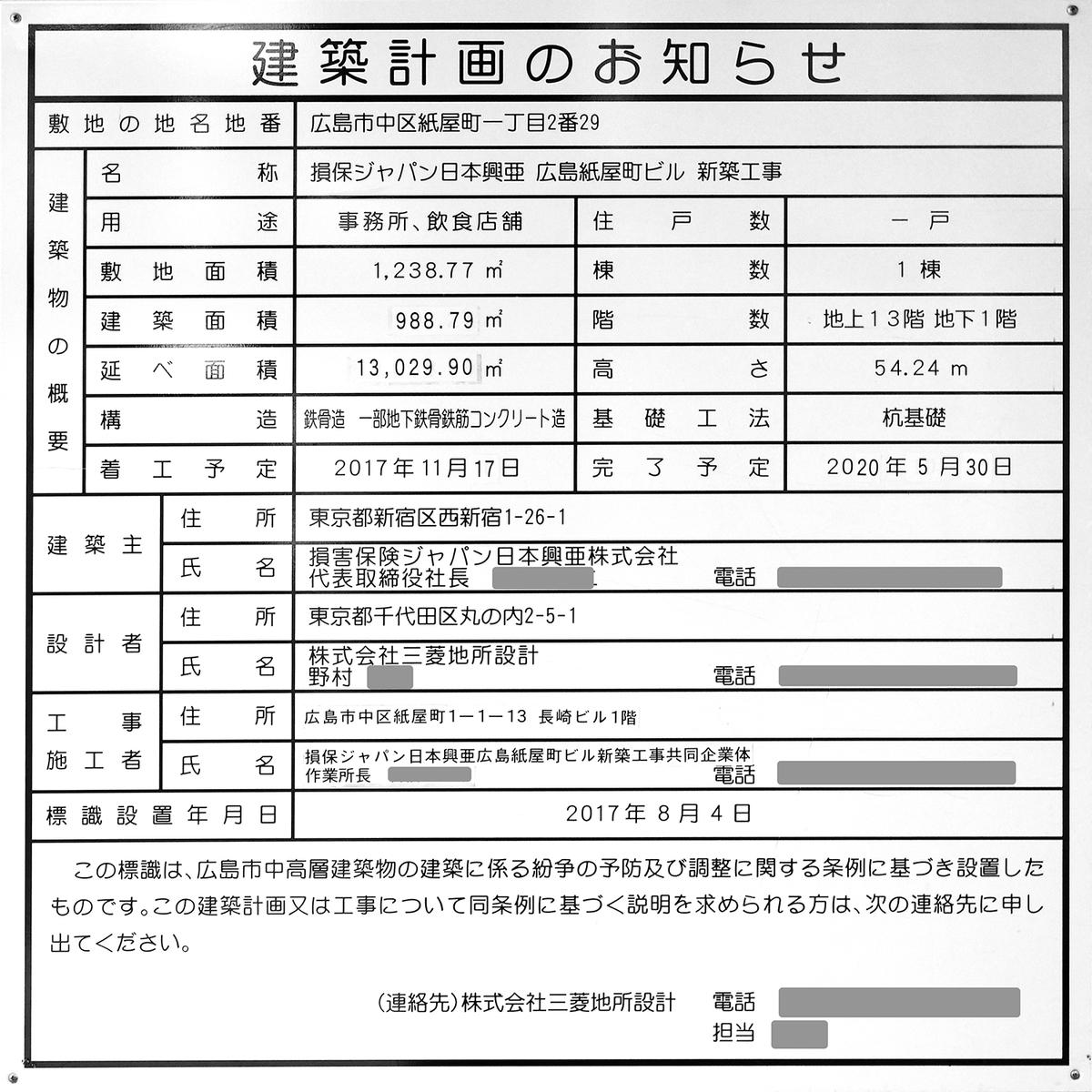損保ジャパン日本興亜 広島紙屋町ビル