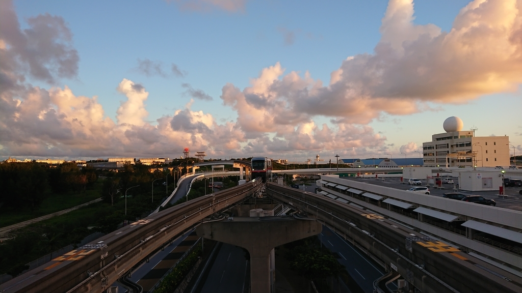 yui-rail-sunset-time