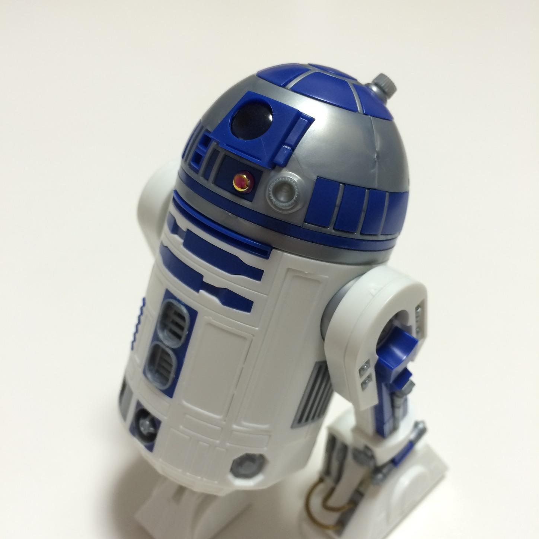 R2 D2のプラモデル バンダイの1 12サイズ を作ったよ スライム
