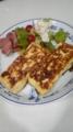 ホテルオークラレシピのフレンチトーストです〜うまうま(´∇`)