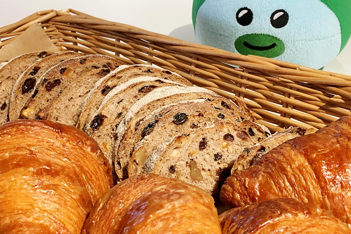 金曜朝のパン
