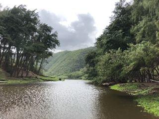 ポロル渓谷の川