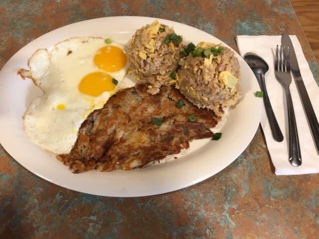 ハワイアンスタイルカフェで注文した料理①