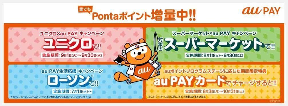 au PAYのキャンペーン
