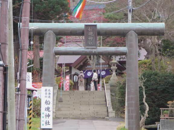 元町エリア(船魂神社)