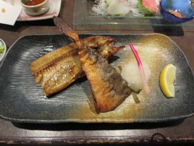 魚まさほっけの半身