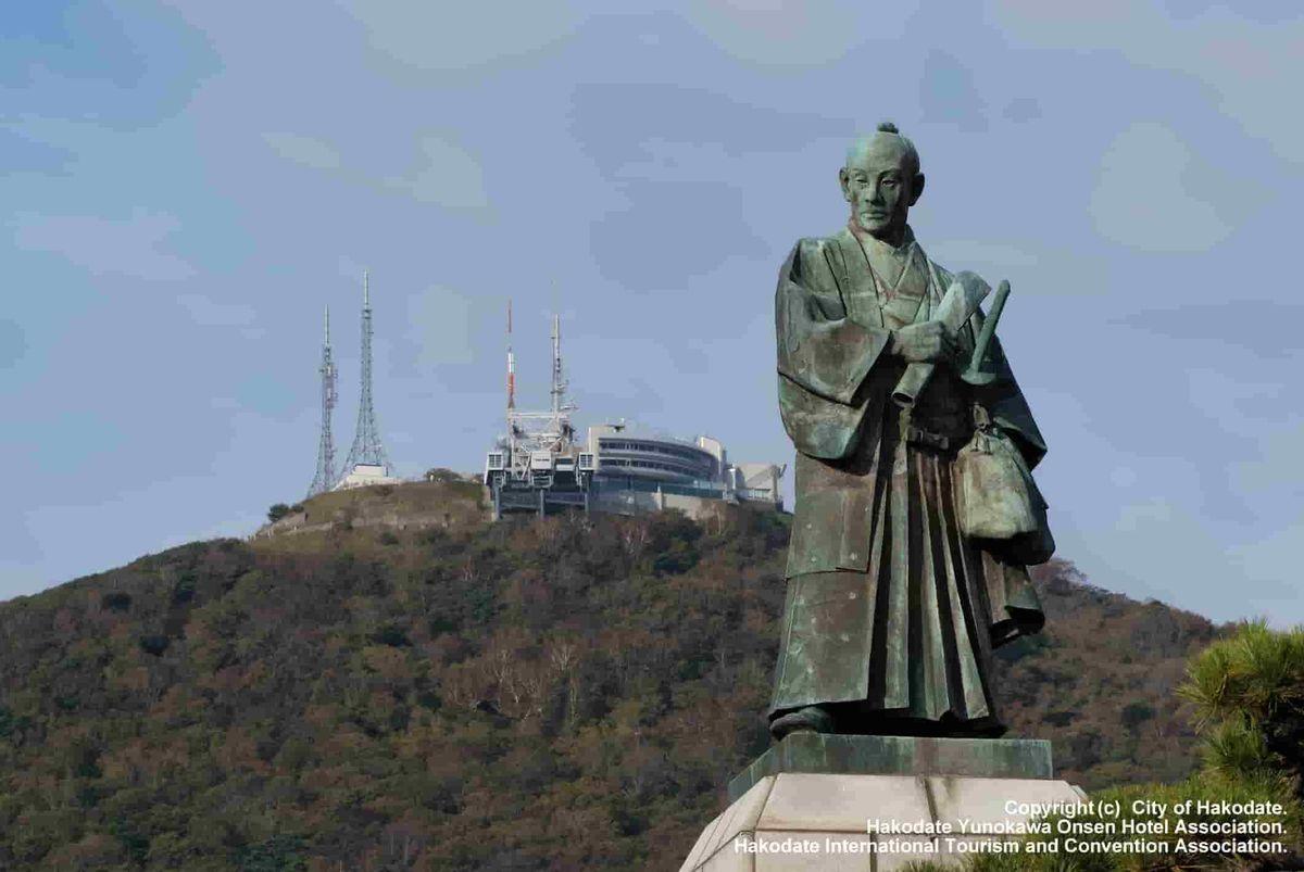 函館 高田屋嘉平像