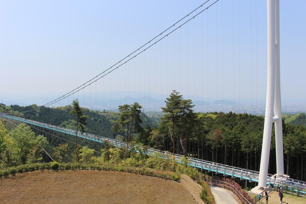 三島スカイウォーク 吊橋