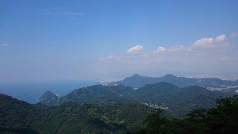 伊豆パノラマパーク 展望台からの風景