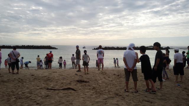 千鳥ヶ浜 地引き網体験