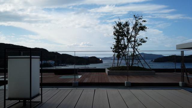 ホテルサン浦島悠季の里 展望テラス