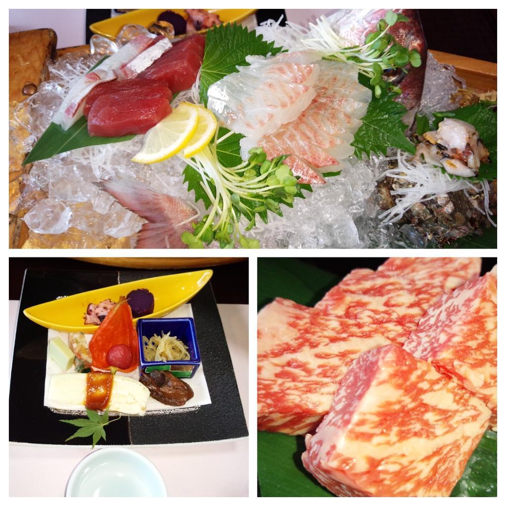ホテルサン浦島悠季の里 料理