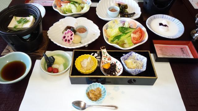 ホテルサン浦島悠季の里 朝食