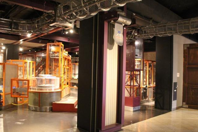 科学技術館 5階