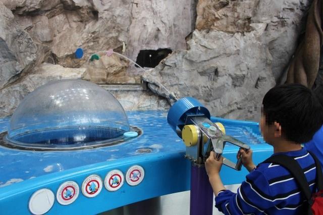水の科学館 的当て