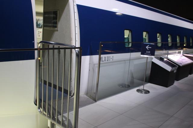 リニア・鉄道館 リニア展示車両入り口