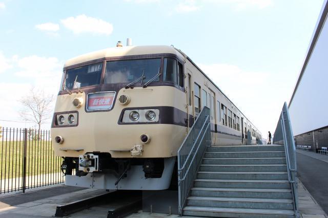 リニア・鉄道館 飲食可能な展示車両